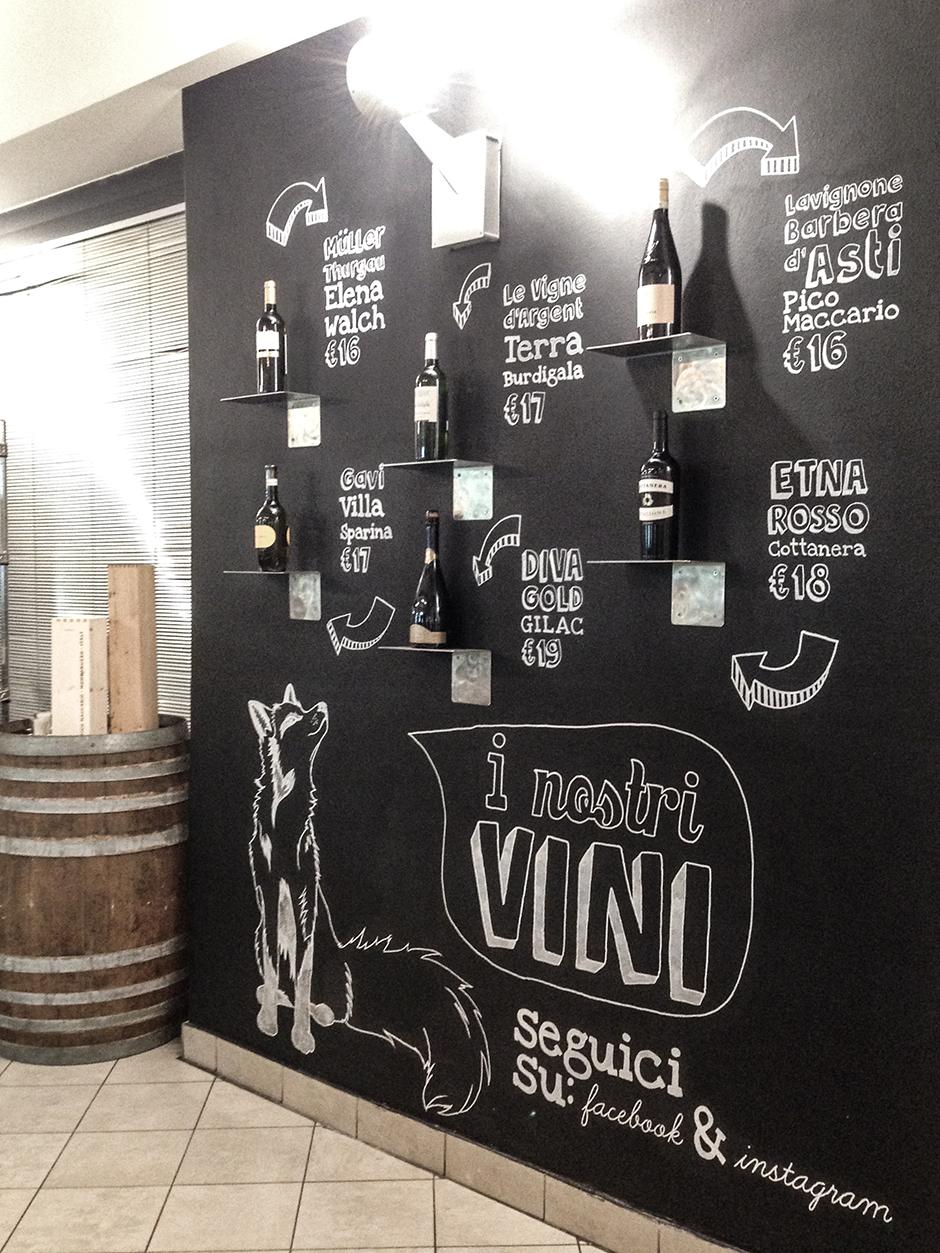 lavagna grande vini marechiaro