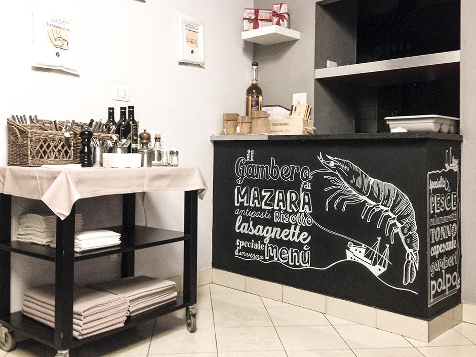 lavagna cucina marechiaro